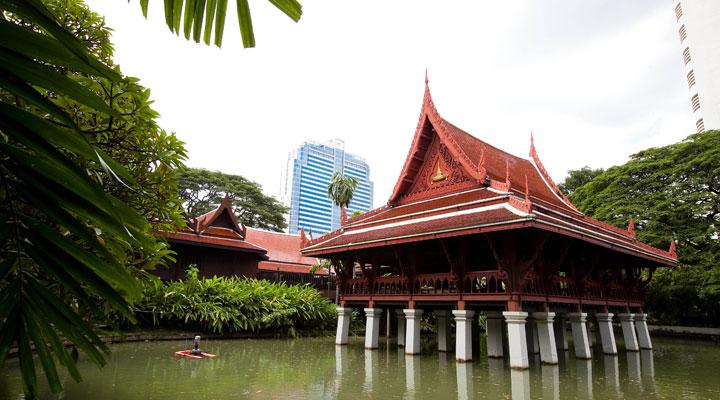 Thai-Styled Houses of Chulalongkorn University